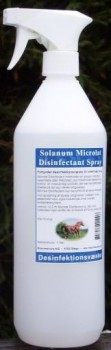 Solanum Microlat Disinfection 250 ml / 1 L - Bekæmper bakterier og svamp